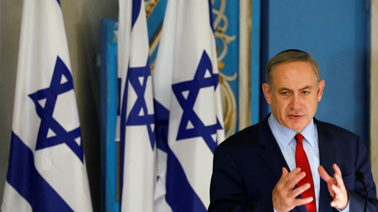 Mr Netanyahu has denied all the accusations against him