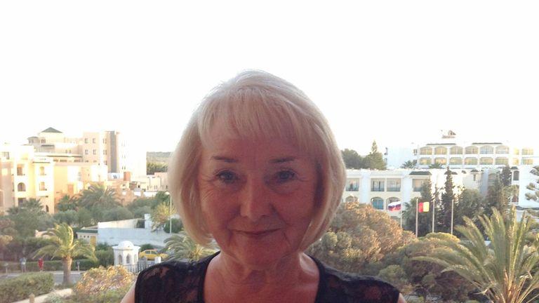 Lisa Burbidge, 66, a grandmother-of-four from Whickham, Gateshead