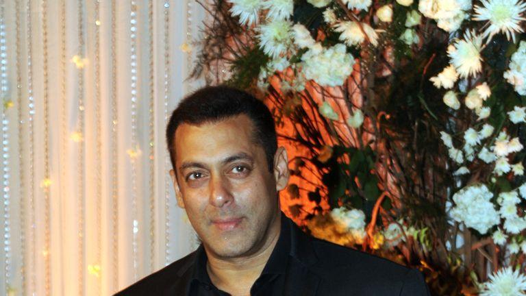 Actor Salman Khan pictured in Mumbai in April last year