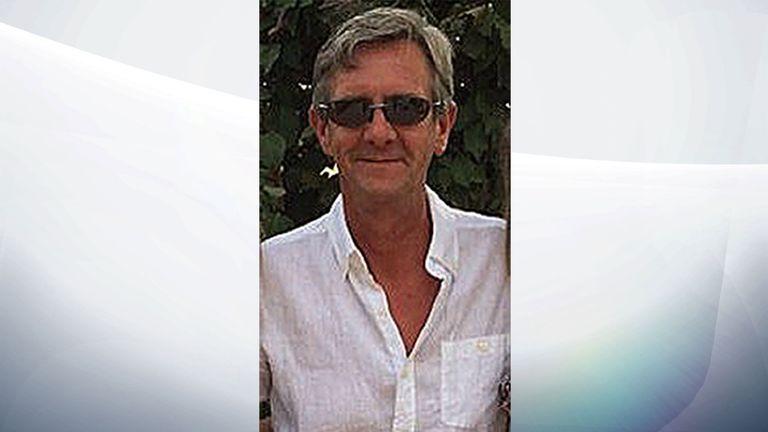 Stuart Cullen, 52, from Lowestoft in Suffolk