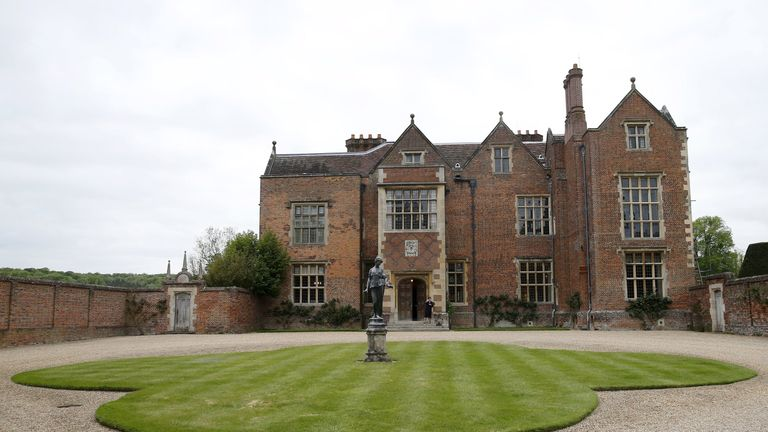 A General View of the PM's country residence Chequers