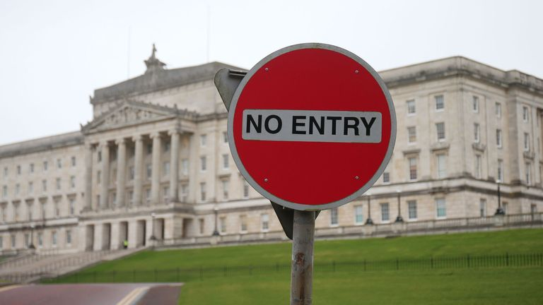 The absence of an administration at Stormont could delay the Brexit process