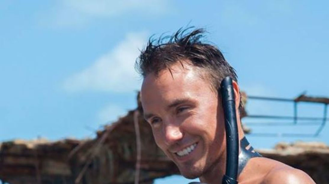 Rob Stewart has been missing since Tuesday. Pic: Facebook/Sharkwater