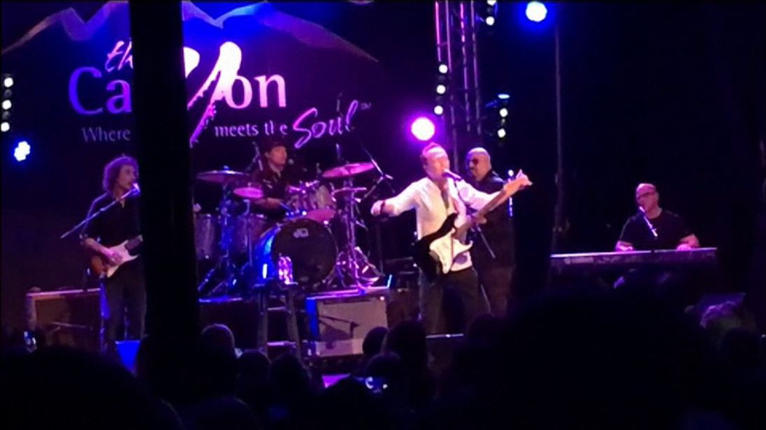David Cassidy performed erratically at the Canyon Club in Agoura Hills