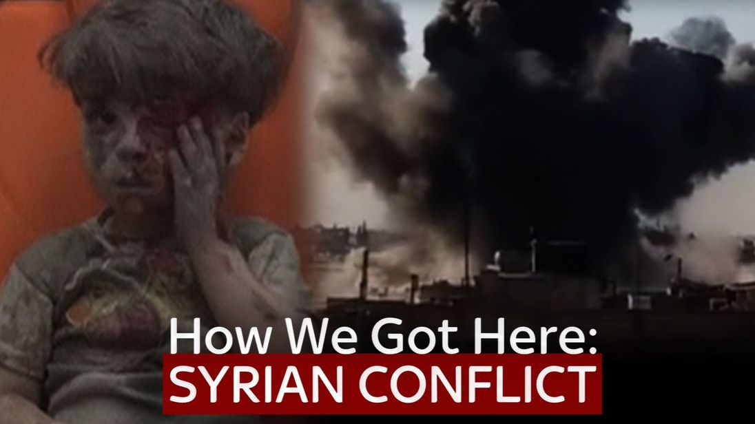 The Syria conflict has killed hundreds of thousands of people
