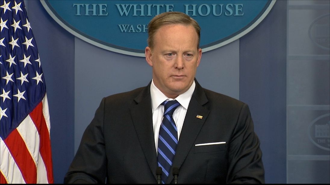 Sean Spicer speaks about US-Mexico relations