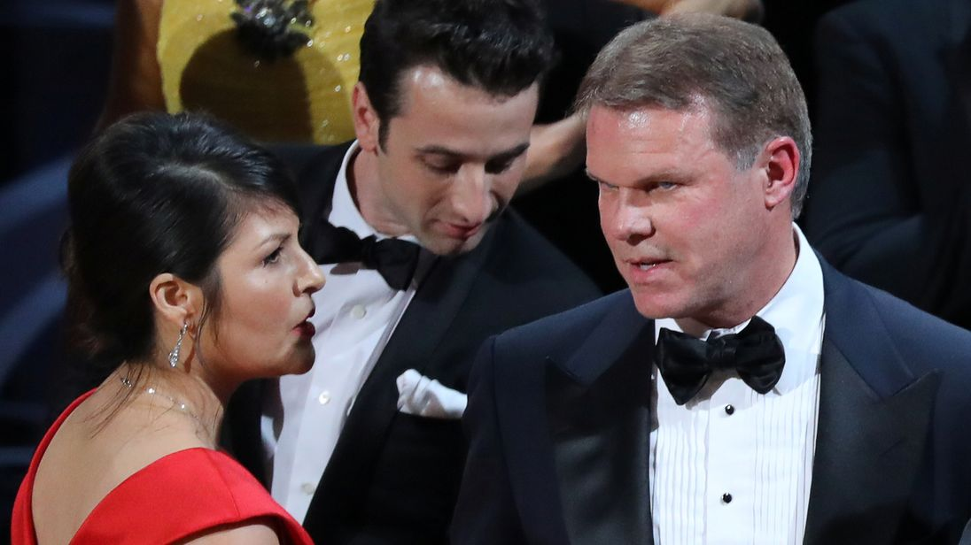 Brian Cullinan is a managing partner in charge of Oscars ballots
