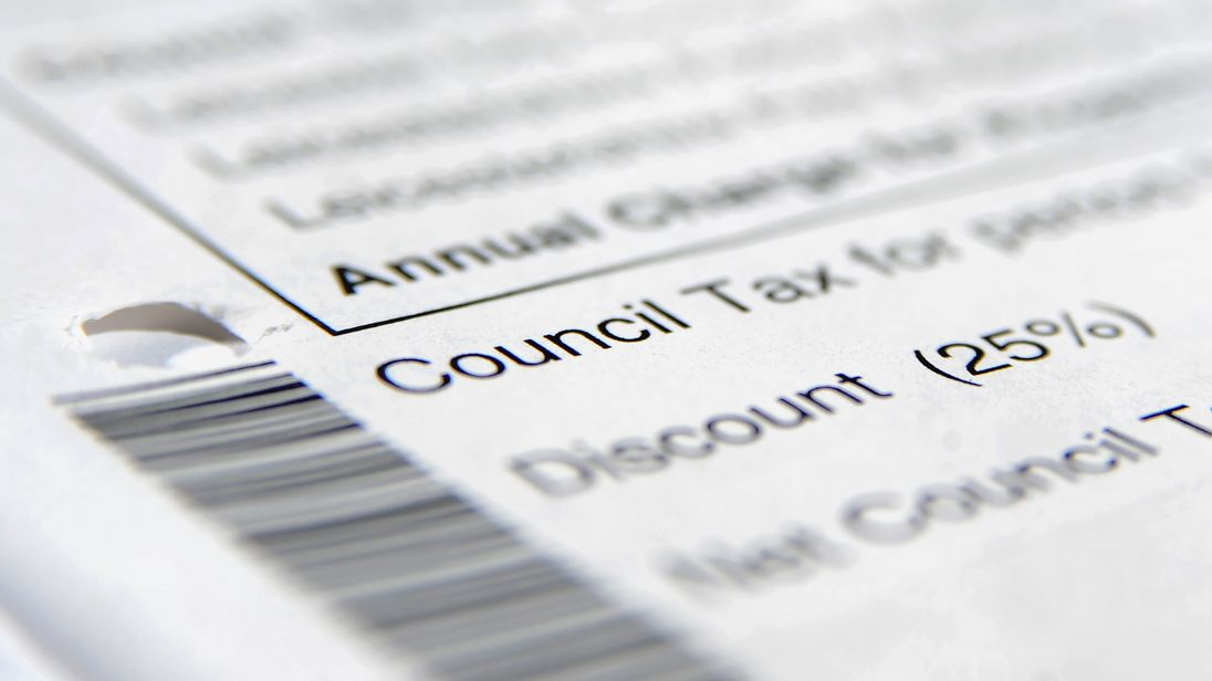 Only four local authorities in England say they plan to freeze council tax bills