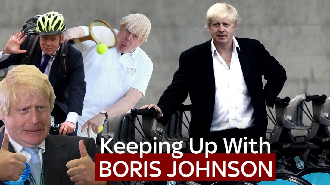 Boris Johnson has a particularly colourful political career