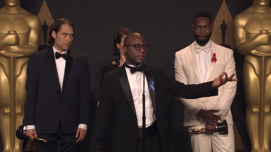 Moonlight director Barry Jenkins says he saw two cards
