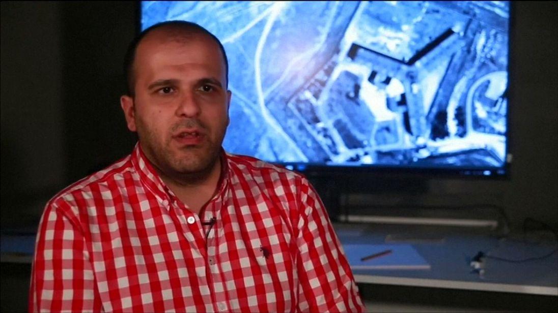 Diab Serrih spent five years in Sednaya Prison