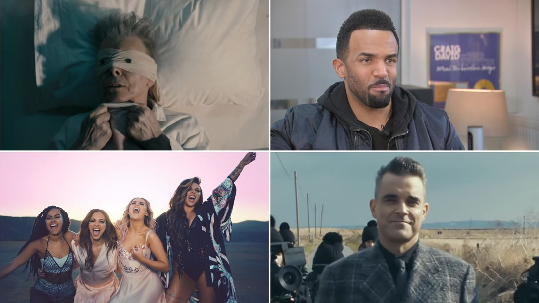 Just some of the nominees at the 2017 Brit Awards