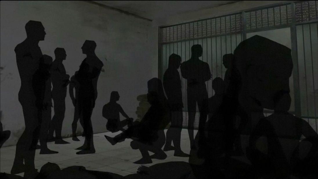 Amnesty International have produced an animation of Sednaya Prison