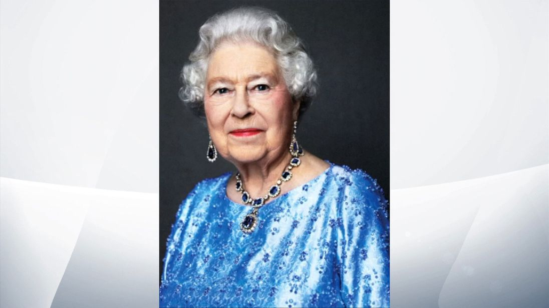 A David Bailey portrait of the Queen has been re-issued to mark the Sapphire Jubilee