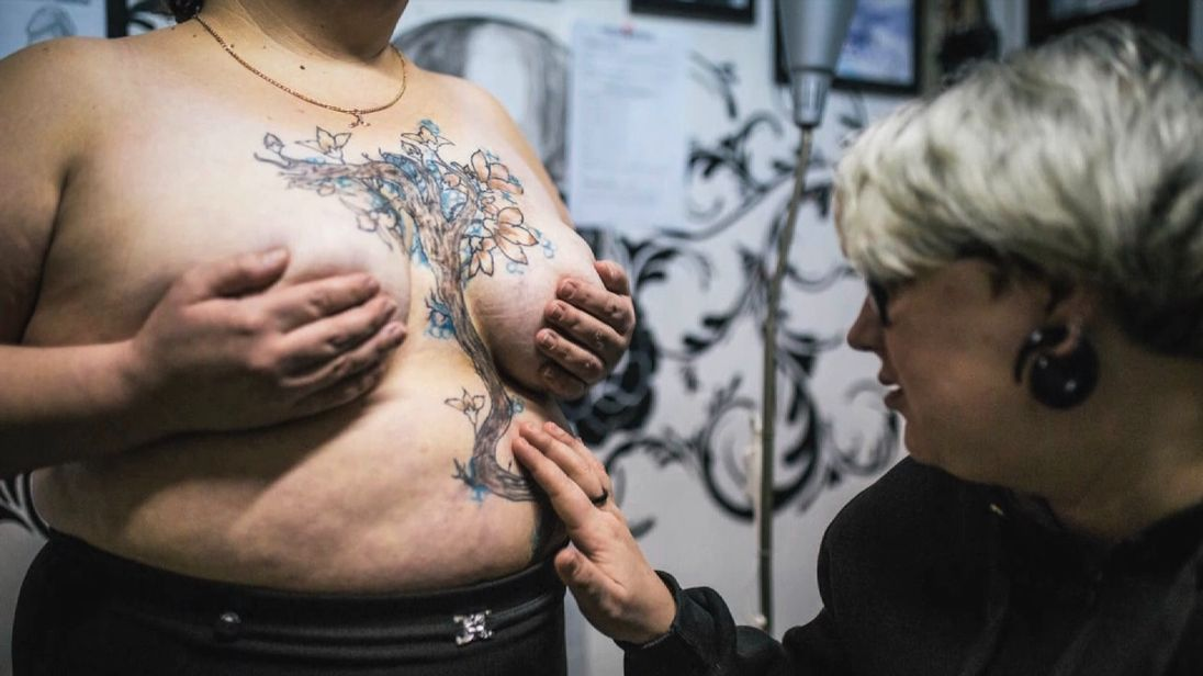 Domestic violence in Russia, tattooist