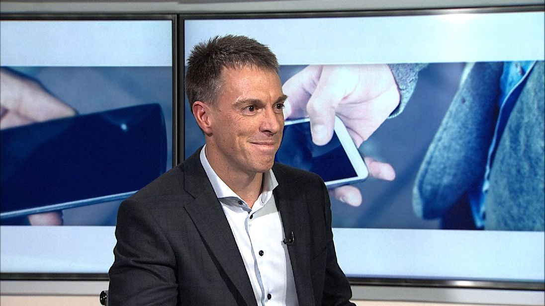 Mark Evans is chief executive of O2