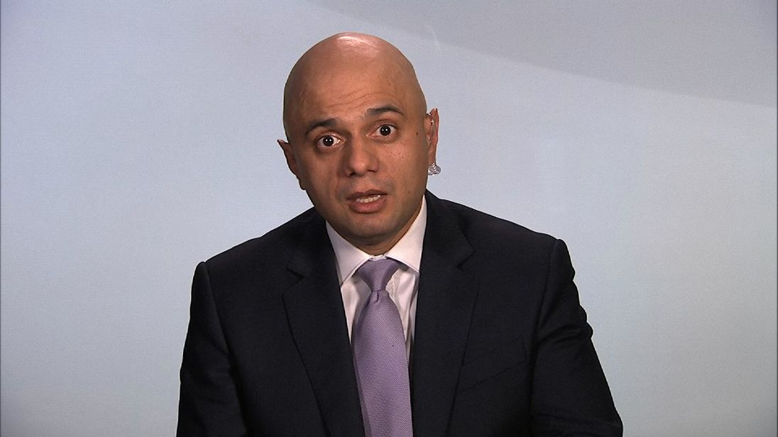 Sajid Javid wants to stimulate the housing market