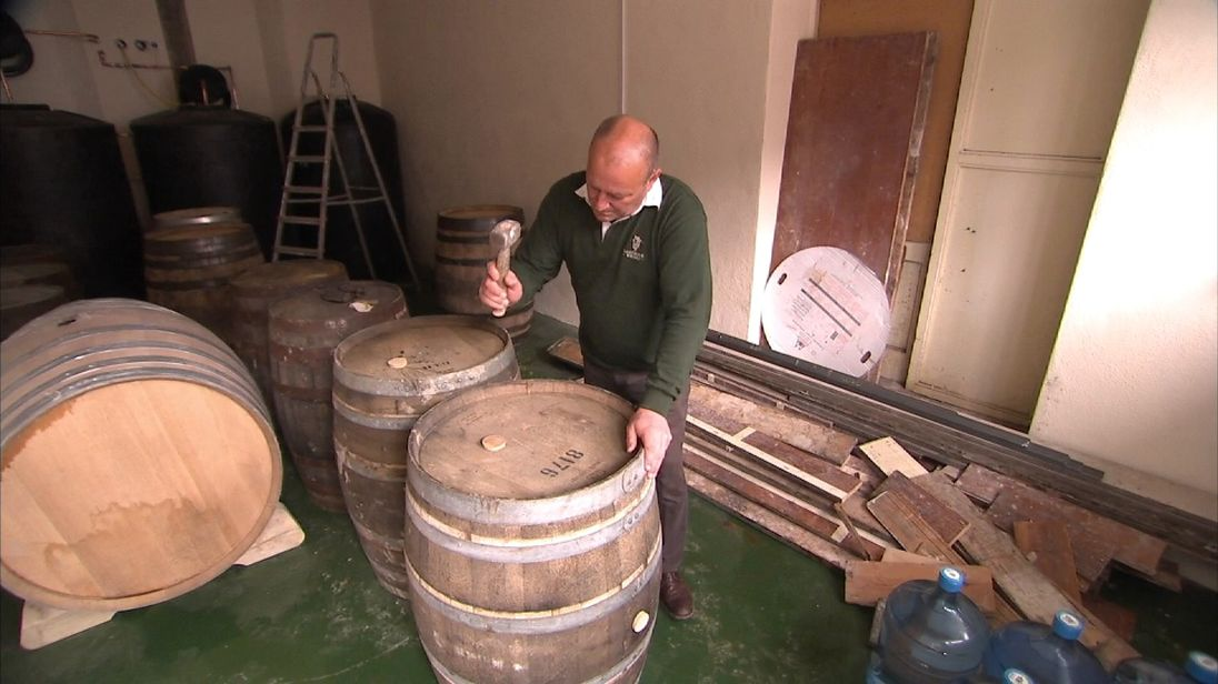 The Dartmoor Whisky Distillery is based in Bovey Tracey in Devon