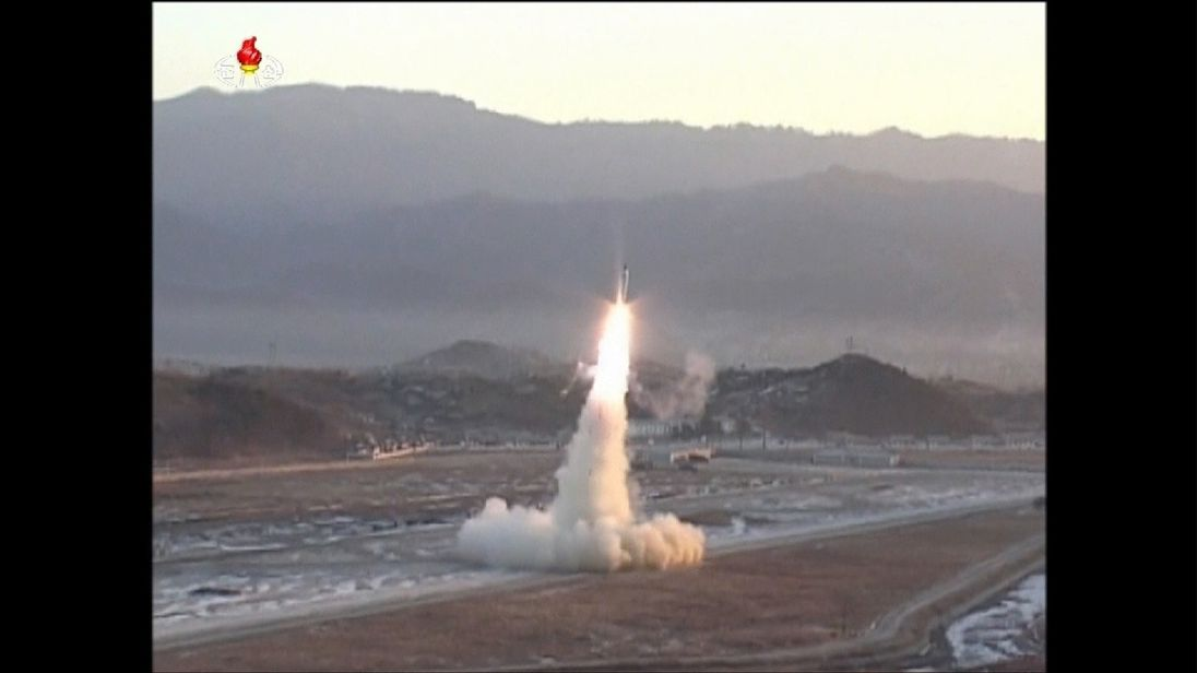 North Korea missile launch