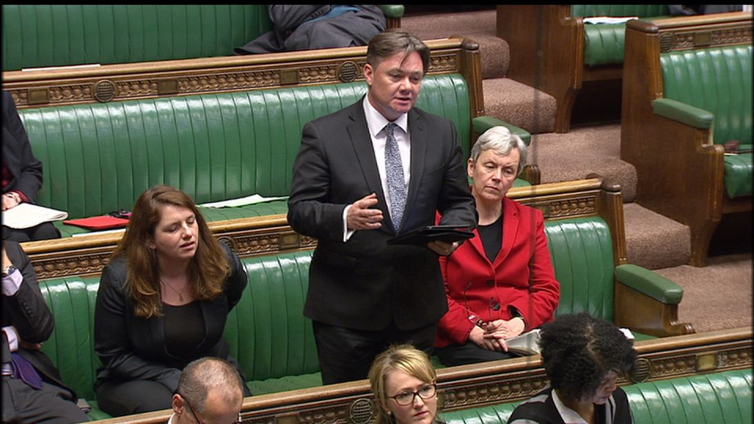 Iain Wright MP chairs the business select committee
