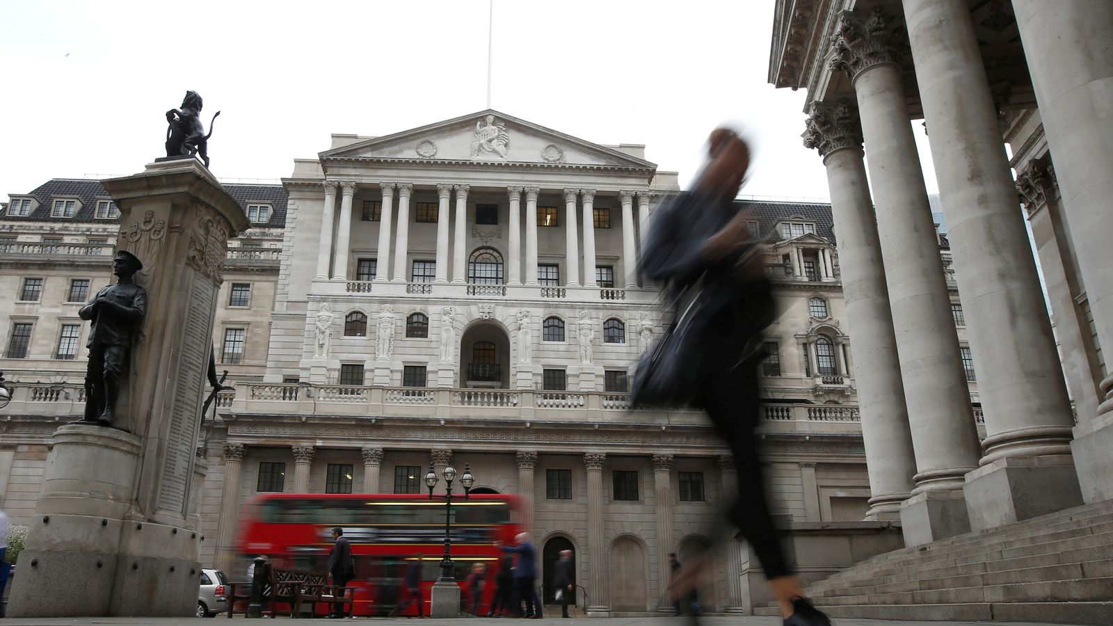 Bank sees reduced risk of disorderly Brexit