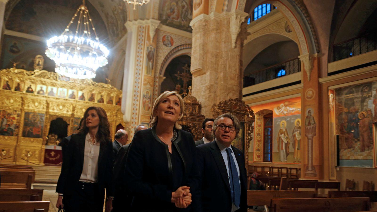 Marine Le Pen supported Bashar Assad 7