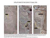 Mass graves in Syria