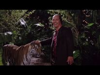 McConaughey is seen approaching a tiger in the film