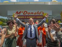 Keaton plays McDonald's founder Ray Kroc
