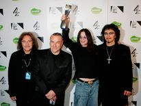 Black Sabbath being inducted into the UK Music Hall of Fame in 2005