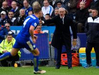 A 4-0 win over Swansea left Leicester City on the brink of the title in late April