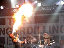 The band are known for the intensity of their live performances