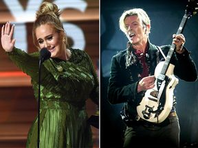 Adele and Bowie were the big winners of the ceremony