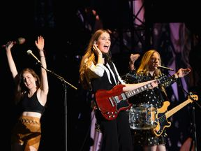 Haim are one of the few female bands confirmed for the festival