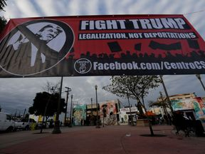 California has seen a growing protest movement against President Trump