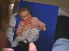 Mia Barton Bright died of meningitis aged 18 months