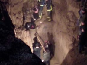12-year-old girl rescued from a well in China