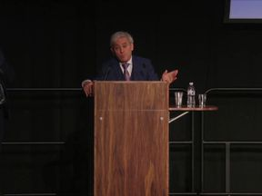 John Bercow speaks to students in Sheffield