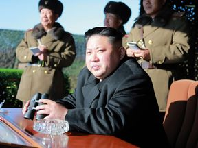 North Korean leader Kim Jong-Un pictured in December 2016
