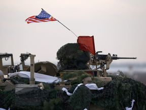 US troops are currently deployed on a NATO operation in Poland