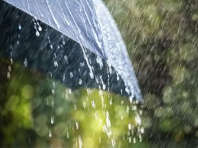 Monday is set to be a very wet day across the UK