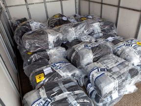 A record 1.4 tonnes of cocaine was seized