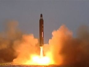 North Korea nuclear missile launch