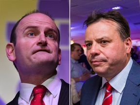 Douglas Carswell is to be challenged by Arron Banks (R)
