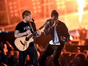 Ed Sheeran and Stormzy performed together