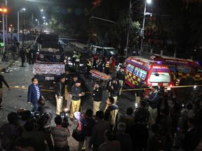A faction of the Pakistani Taliban said they carried out the attack