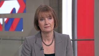 Harriet Harman talks to Sophy Ridge on Sky News