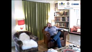 Ian Stewart at the home he shared with Helen Bailey