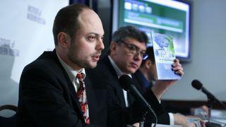 Kremlin critic Vladimir Kara-Murza