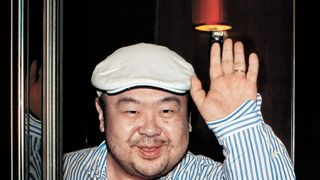 Kim Jong-Un's half-brother, Kim Jong-Nam, pictured in 2010